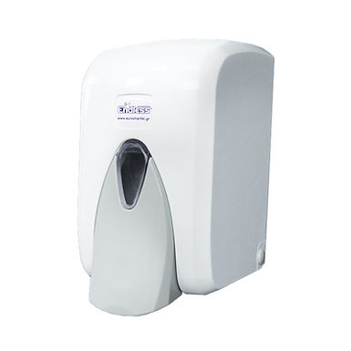 Foam Dispenser Endless, Wall Mounted, Single, Plastic White, 500ml