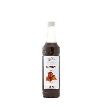 Caramel Syrup Delicia, 1.3kg PET Bottle