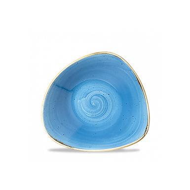 Bowl Churchill Stonecast, Triangle, Cornflower Blue