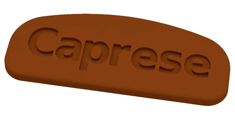 Caprese Mold Martellato Choco Tag, Thermoformed Plastic, 12 pcs, 63x25x3mm