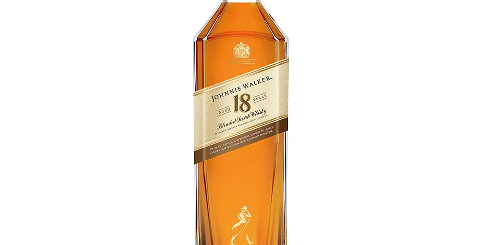 Johnnie Walker Aged 18 Years Scotch Whisky, 700ml