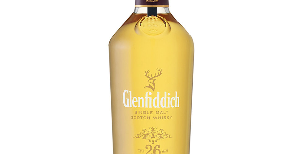 Glenfiddich 26 Years Old Scotch Whisky, 700ml