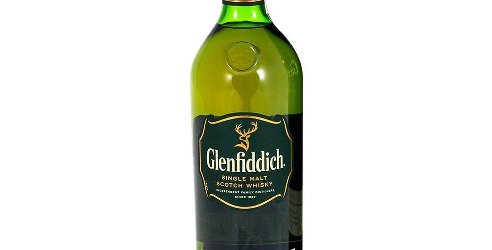 Glenfiddich Aged 12 Years Scotch Whisky, 1L