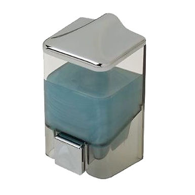 Dispenser, Wall Mounted, Single, Plastic Chrome, 1000ml