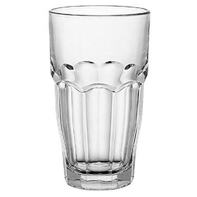 Long Drink Glass Bormioli Rocco Rock Bar Slim, Tempered, Stackable, 370ml
