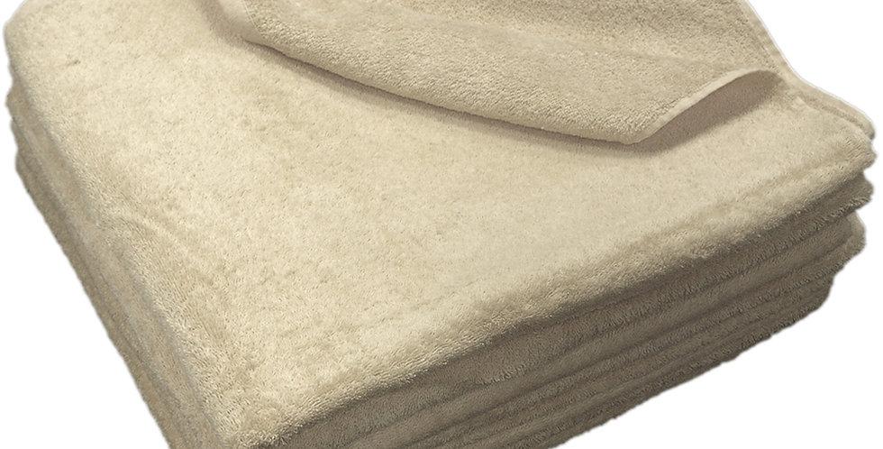 Beach Towel Fragente, Beige, 20/2, 500gr/m², 80x150cm