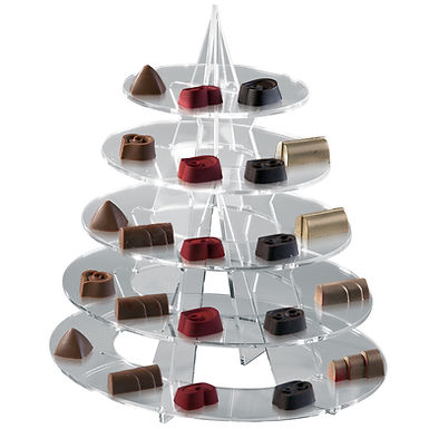 Chocolates Mini Display Martellato, Plexiglass, 22x27x30cm