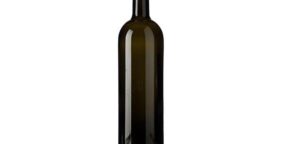 Bottle Bordolese Cilindrica, Glass, Antique, 1500ml