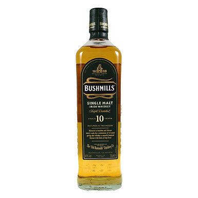 Bushmills Aged 10 Years Irish Whiskey, 700ml