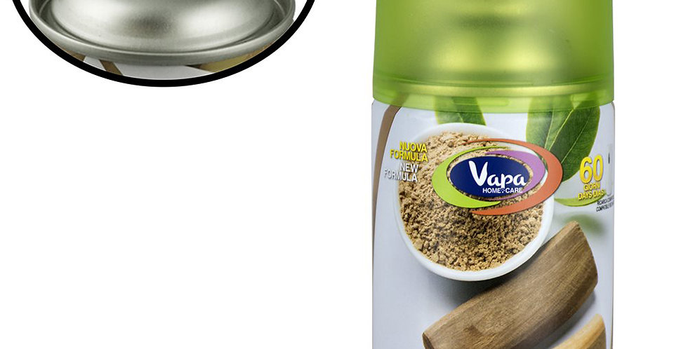 Air Freshener Spray Vapa Sandalo, Suitable for Machines, 250ml