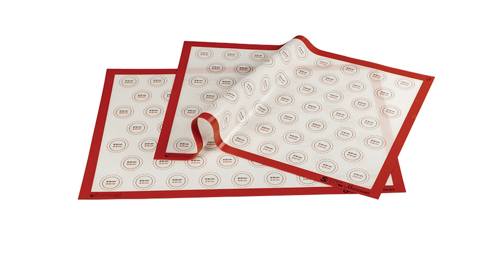 Baking Mat for Macarons Pavoni, Non-Stick, Silicone, 58.5x38.5cm