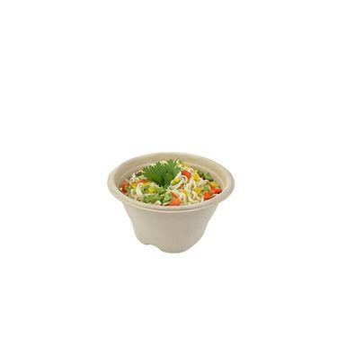 Disposable Bowl Sabert, Round, Biodegradable, 375ml, Ø13x7cm