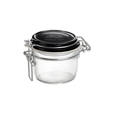 Jar with Hermetic Lid Bormioli Rocco Chiaroscuro Fido, 2 Colors, 125ml