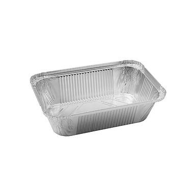 Aluminum Container for Takeaway/Delivery, 247x145x44mm, 1200ml