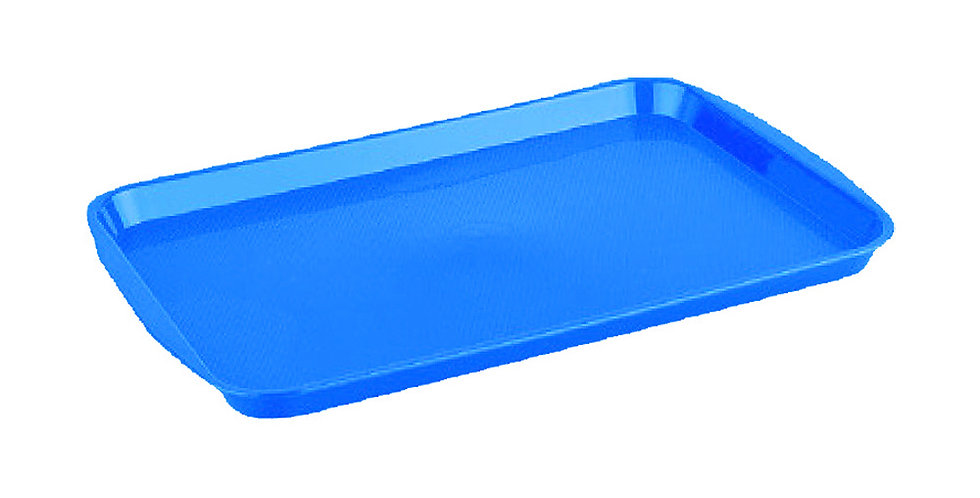 Fast Food Tray, ABS, 3 Colors, 27x36cm