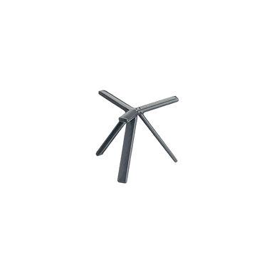 Buffet Stand Leone, Anti Skid Coated S. Steel, Grey, 1 pc, 10x10cm
