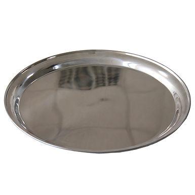 Cake Tray, Round, Inox, Ø35cm