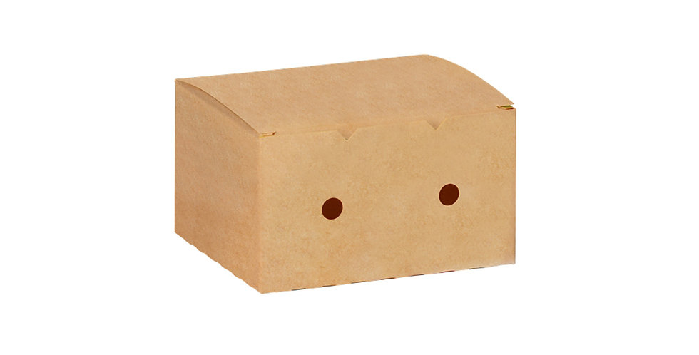 Disposable Food Box, Kraft Paper, 11.5x7.3x4.5cm