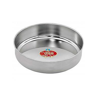 Baking Pan Venus, Deep, Round, Stainless Steel, Ø30cm