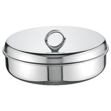 Baking Pan with Lid Super Casa, Round, Inox 18/C, Ø40cm