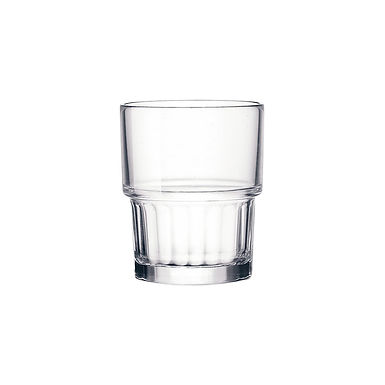 Water Glass Bormioli Rocco Lyon, Tempered, Stackable, 160ml