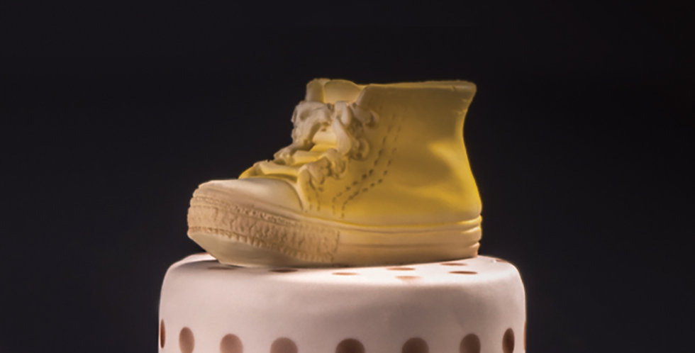 Baby Sneaker Chocolate Mold Martellato Fashion & Style, Silicone, 93x40x55mm