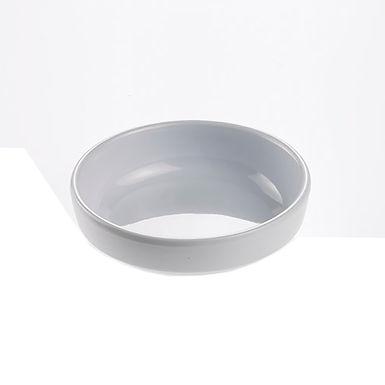 Small Plate Leone Opale, Melamine, White, 1 pc, Ø9x2.5cm