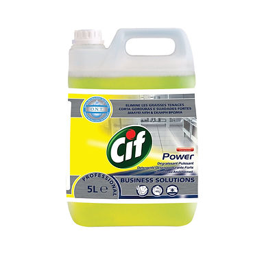 Powerful Abbrasive Grease Cif, 5L