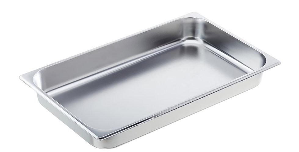 Food Pan for Chafing Dish Leone, SS 18/10, 1 pc, GN 1/1, 53x32.5x6.5cm