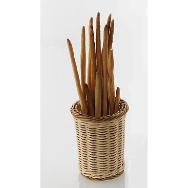 Breadstick Basket Leone, Polypropylene, Bicolor, 1 pc, Ø12x15cm