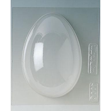 Half Egg Mold Martellato, Polyethylene, 220x160x85mm