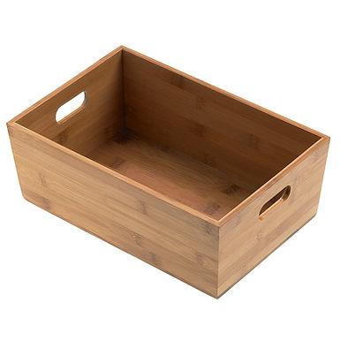 Breadbox Leone, Bamboo, Natural, 1 pc, 30x20x11cm