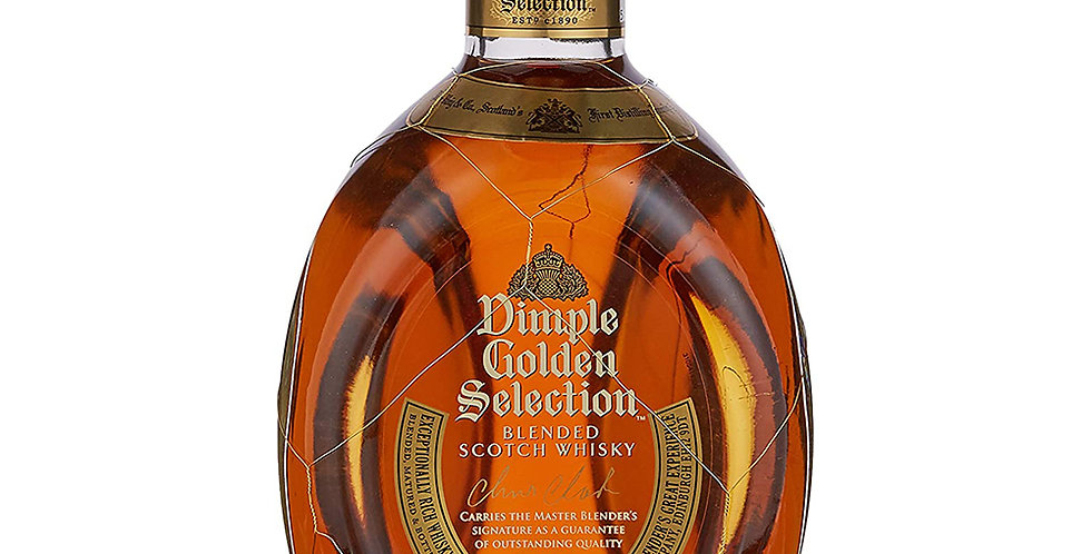 Dimple Golden Selection Scotch Whisky, 700ml