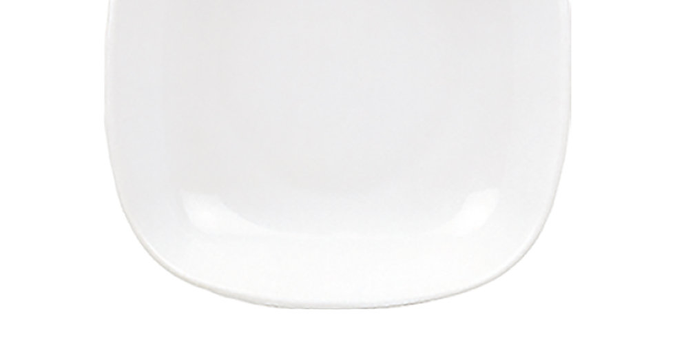 Deep Plate Gural Porselen Mimoza, Porcelain, White, 2 Sizes