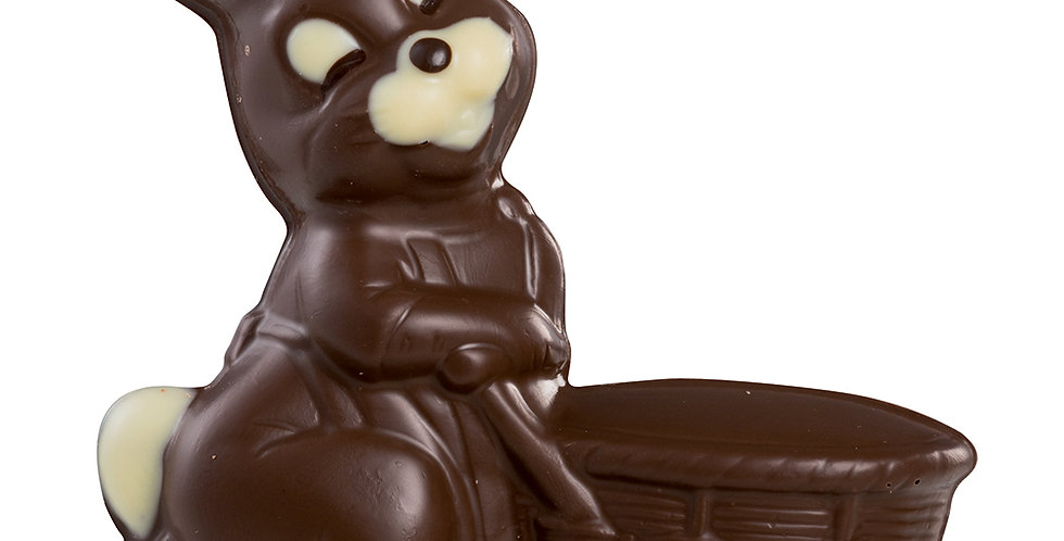 Bunny with Stroller Mold Martellato 3D Easter, Thermoformed Plastic, 140mm