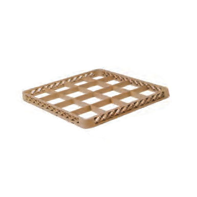 Dishwasher Glass Rack Extender, with 16 Compartments, 50x50x4.5cm