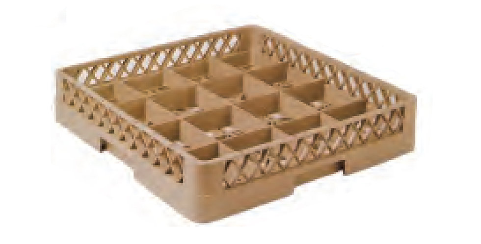 Dishwasher Glass Rack, with 16 Compartments, 50x50x10cm