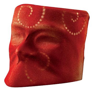 Carnival Mask Chocolate Mold Martellato, Thermoformed Plastic, 1+1 pcs