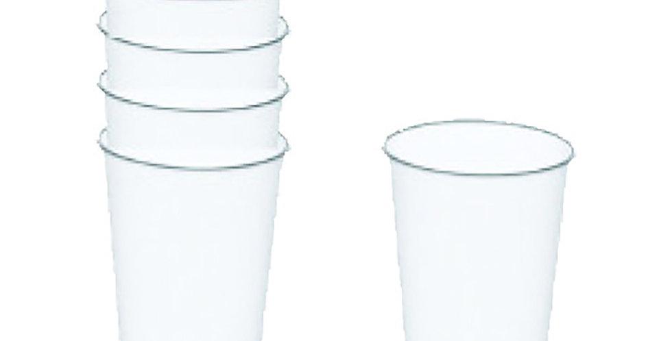Disposable Cups, PS, Transparent, 80ml., 100pcs.
