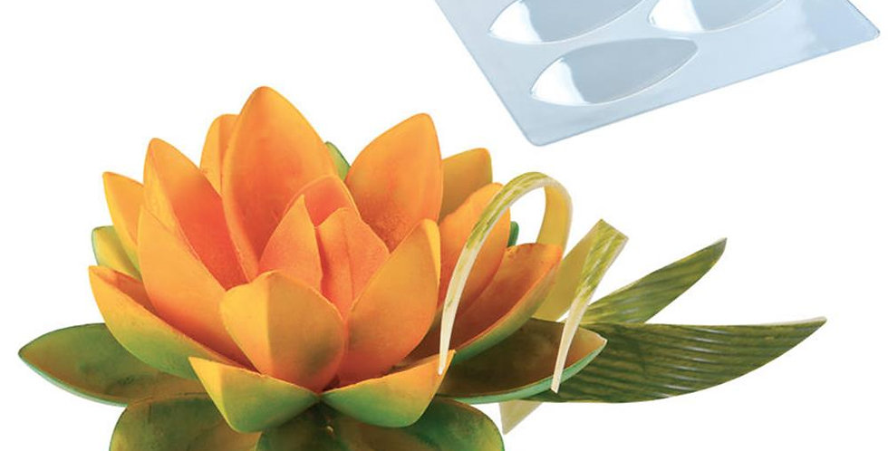 Small Lotus Flower Kit Martellato, Thermoformed Plastic, 8 pcs, 80x35x18mm