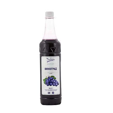 Blue Grapes Syrup Delicia, 1.3kg PET Bottle