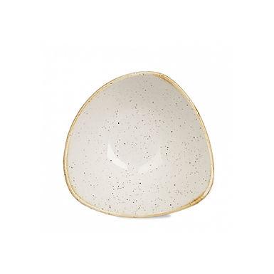 Bowl Churchill Stonecast, Triangle, Barley White