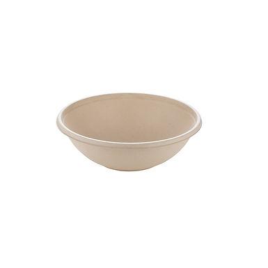 Buddha Bowl Sabert bepulp, Pulp, Natural, Ø17x5cm, 600ml