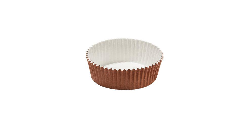 Disposable Muffin Mold, Hard Paper, Internal PET Coating, Ø60x22.5mm