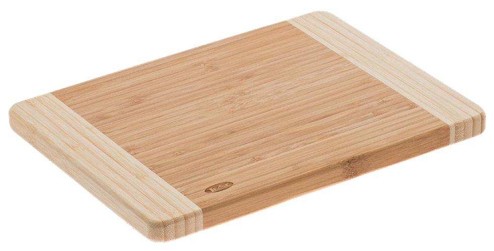 Bicolor Cutting Board Leone, Bamboo, Natural, 1 pc, 40x30x1.9cm
