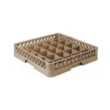 Dishwasher Glass Rack, with 25 Compartments, 50x50x10cm