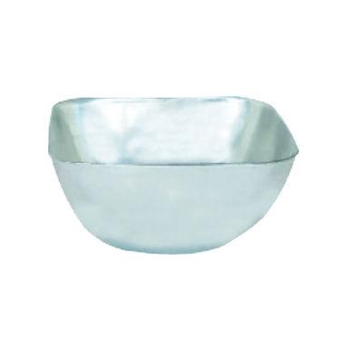 Bowl for Nuts, Square, Inox, 9.5x9.5x4.5cm