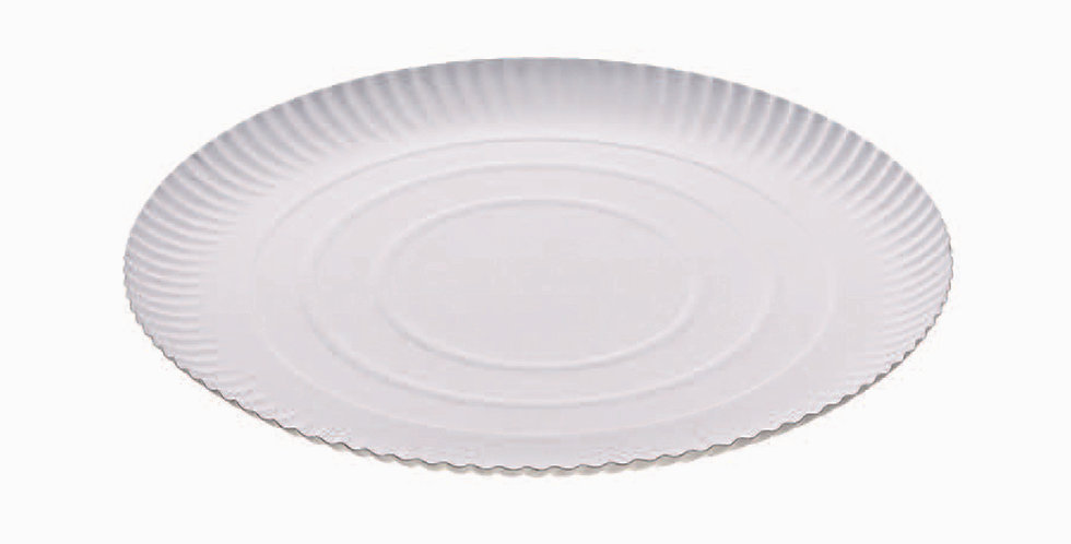 Round Plate Leone, Biodegradable Virgin Fiber, 50 pcs, Ø34cm