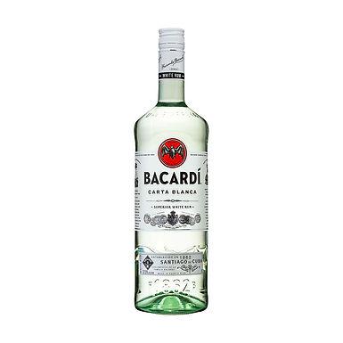 Bacardi Carta Blanca Rum, 1L