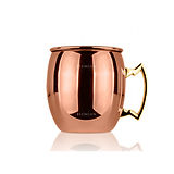 Moscow Mug Lumian Stone, Copper Plated, 500ml